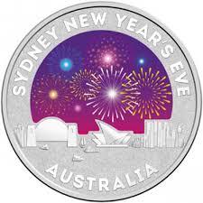 new year coin 2015 sydney new year 1 2oz silver coin sydney coins