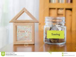 saving money with family home word cloud stock photo image 48083362