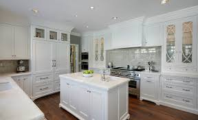 encore ceramics this traditional grey and white kitchen uses 3x8