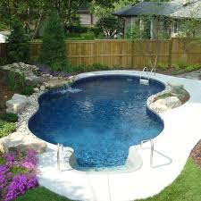 Small Backyard Design by Small Backyard Inground Pool Design Completure Co