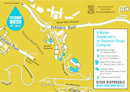 Water Country Map Sustainability Hku Filtered Water At Hku Ditch Disposable And