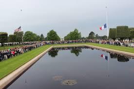 Colorado Flags At Half Mast Memorial Day 2016 At Normandy American Cemetery American Battle