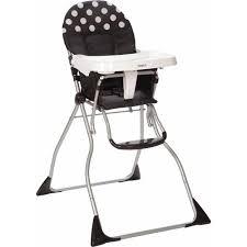 Vintage Cosco High Chair Cosco Flat Fold High Chair Retro Dot Walmart Com