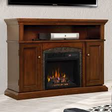 lynwood infrared electric fireplace media cabinet vintage cherry