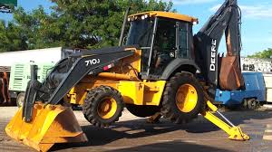 2008 john deere 710j in action sold tractomax youtube