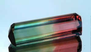 tri color tourmaline madagascar weighs 23 67 carats