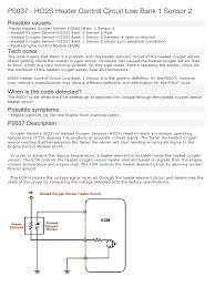 lexus v8 1uz firing order p0037 exhaust gas hvac