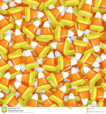 halloween candy background candy corn seamless pattern vector illustration stock vector