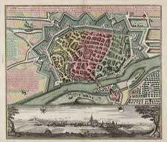 Ulm Germany Map by Ulma Memorabilis Ac Permunita Libera Imperii Civitas Ad Danubium