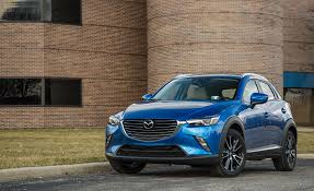 2017 mazda lineup 2017 mazda cx 3 in depth model review car and driver