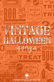 youtube halloween music monster mash vintage halloween songs spooky little halloween