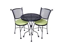 Black Bistro Chairs Black Mesh Bistro Chairs And Table Your Event Delivered