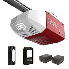 i drive garage door opener craftsman 1 2 hp chain dr garage door opener 2 remotes keypad