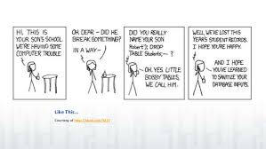 Bobby Tables Xkcd Understanding And Preventing Sql Injection Attacks
