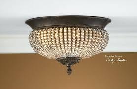 crystal semi flush mount lighting crystal flush mount chandelier beaded flush mount lighting ceiling