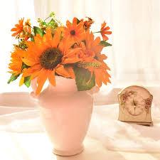 aliexpress com buy artificial flowers silk sunflower bouquets