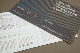 contemporary engineering brochure template inkd
