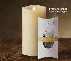 luminara fragrance diffusing moving led candle indoor