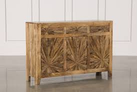 Home Trends And Design Mango by Otb Mango Wood Pinwheel Sideboard Living Spaces