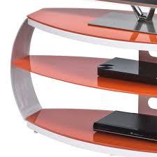 B O Rollcontainer Tv Möbel Ingbo In Rot Mit Glas Wohnen De