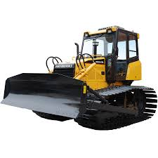 the bulldozer can be used for leveling the ground and accumulation
