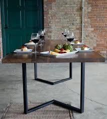 rustic metal and wood dining table wood metal dining table rustic metal and wood dining table rustic