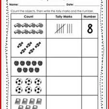 tally mark worksheets for 1st grade kristal project edu hash
