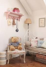 chambre fille style romantique design interieur idée déco chambre fille style vintage chic idées