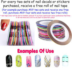 60 x aladdin nail art decals free rhinestones disney jasmine