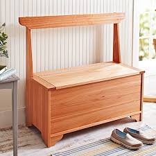 Plans For A Wooden Bench With Storage by Outdoor Furniture Plans