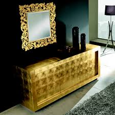 picasso 3 door gold sideboard robson furniture