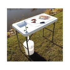 Fish And Game Table Folding Table With Sink Sanblasferry