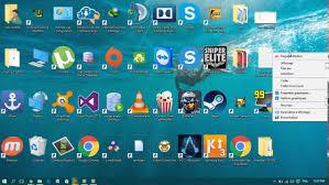 icone bureau comment ajuster la taille des icones du bureau sous windows 10
