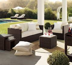 Lounge Patio Furniture Furniture Ideas Exterior Patio Furniture Equipped With Dark Brown