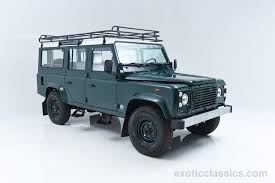 new land rover defender 110 1985 land rover defender 110 exotic and classic car dealership