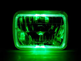 1986 chevy c10 tail lights chevy c10 pickup 1980 1987 green halo sealed beam headlight