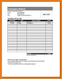 Wholesale Price Sheet Template Price Sheet Template Simple Salon Price List Purple Pink