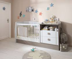chambré bébé chambre jules lit combiné transformable 60 x 120 cm bébé 9