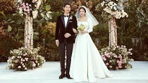 wedding dress song christian reveals how song hye kyo s wedding dress was made