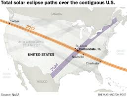 Where Is Chicago In The Us Map by The Eclipse Capital Of The U S Is Over The Moon For Monday U0027s