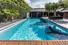 Garden Pool Ideas Backyard Garden With Amazing Glass Swimming Pool