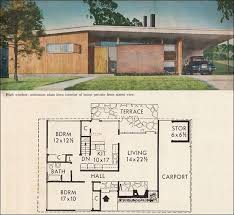 mid century modern house plan mid century modern house plans download vintage 1950 small house