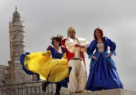 esther purim costume purim and the gentiles opinion jerusalem post