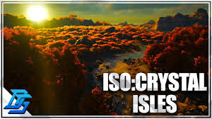 Iso Map Iso Crystal Isles Map Showcase Ark Survival Evolved Mod Map