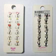kids clip on earrings bnib 6 pairs lovisa kids clip on earrings baby kids on carousell