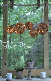 How To Make An Outdoor Chandelier 18 Backyard Lighting Ideas How To Hang Outdoor String Lights