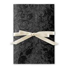 and black wedding invitations black wedding invitations invitations by
