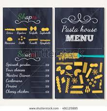 set flat food drink elements menu stock vector 216296779