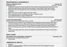 Office Clerk Resume Sample by Download Resume Professional Summary Haadyaooverbayresort Com