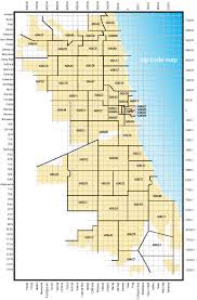 Map Chicago Zip Code Map Chicago My Blog